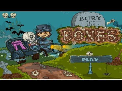КАК Закопать СКЕЛЕТИК 2 #3 Игровой мультик для детей Падающий скелет Bury my bones2