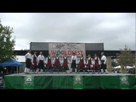 "WorldFest 2011 - Day 2 - Bulgarian Folk Dance Ensemble ""LYUSH"" - Addison, TX - 10/23/2011"