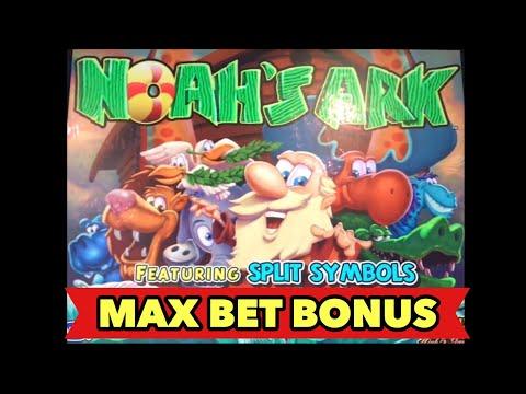 ⭐️NOAH'S ARK SLOT MAX BET⭐️1ST LIVE PLAY AND GREAT BONUS SESSION