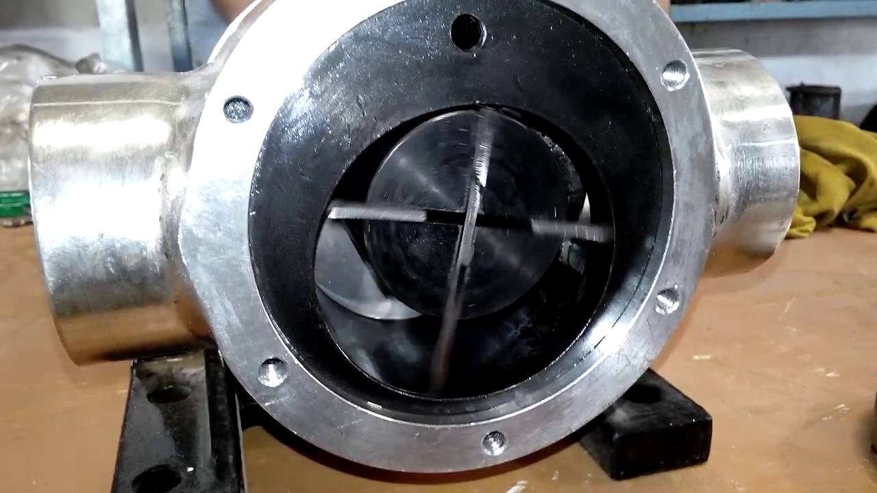 Rotary Vane Pump Video - YouTube