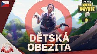 Dětská Obezita w/ J1NYS - Fortnite Battle Royale CZ