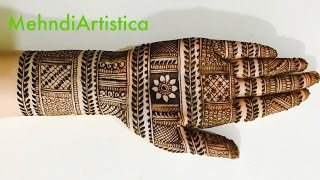 Stylish Simple Mehndi Henna Designs for Hands For Marriage:Mehndi designs for hands