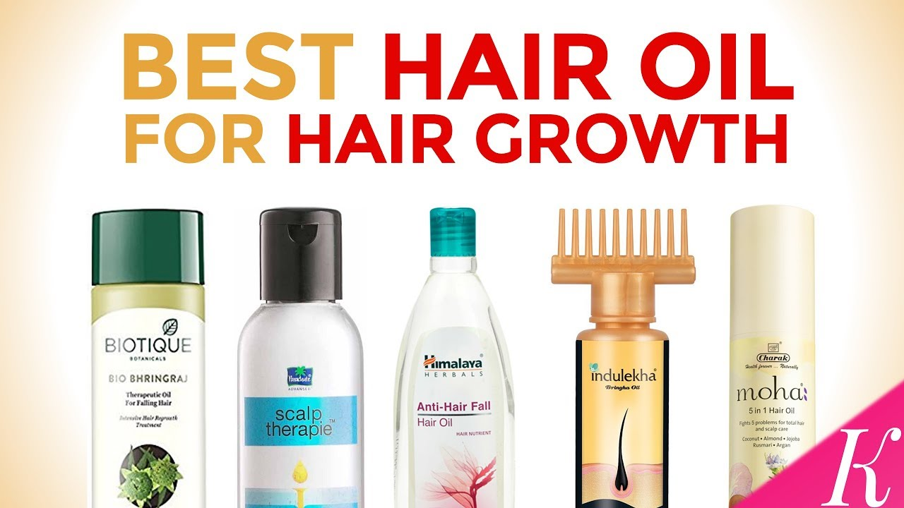 10 Best Hair Oil For Hair Growth In India With Price