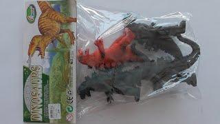 Super Dinosaurs โมเดลก็อตซิลล่า 4 ตัว