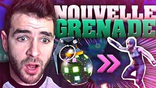 🥇 LA NOUVELLE GRENADE DANSE = CHEATÉ DE FOU! 🔥 Top1 Fortnite Gameplay Fr