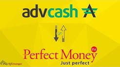 Exchange Advcash to Perfect Money (PM) Instantly