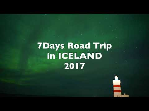 7Days Road Trip 2017 in Iceland