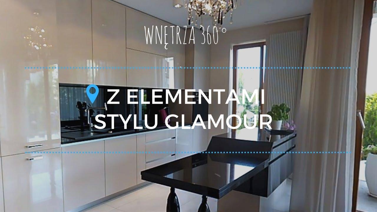 Aranzacja Mieszkania Z Elementami Stylu Glamour 130 M Projekt