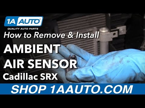 How to Replace Ambient Air Sensor 10-16 Cadillac SRX