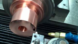 Diamond Turning Copper Sample with Measurements.wmv