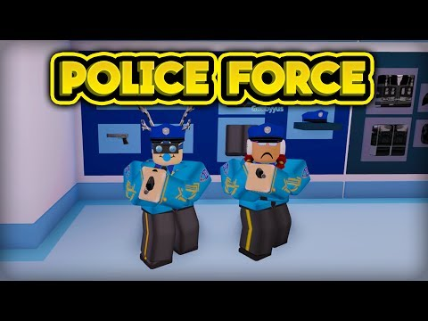 THE POLICE FORCE! (ROBLOX Jailbreak)