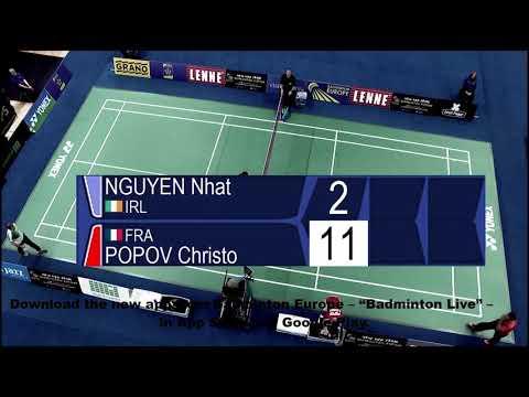 Nhat Nguyen vs Christo Popov  - European Jnr. C'ships 2018
