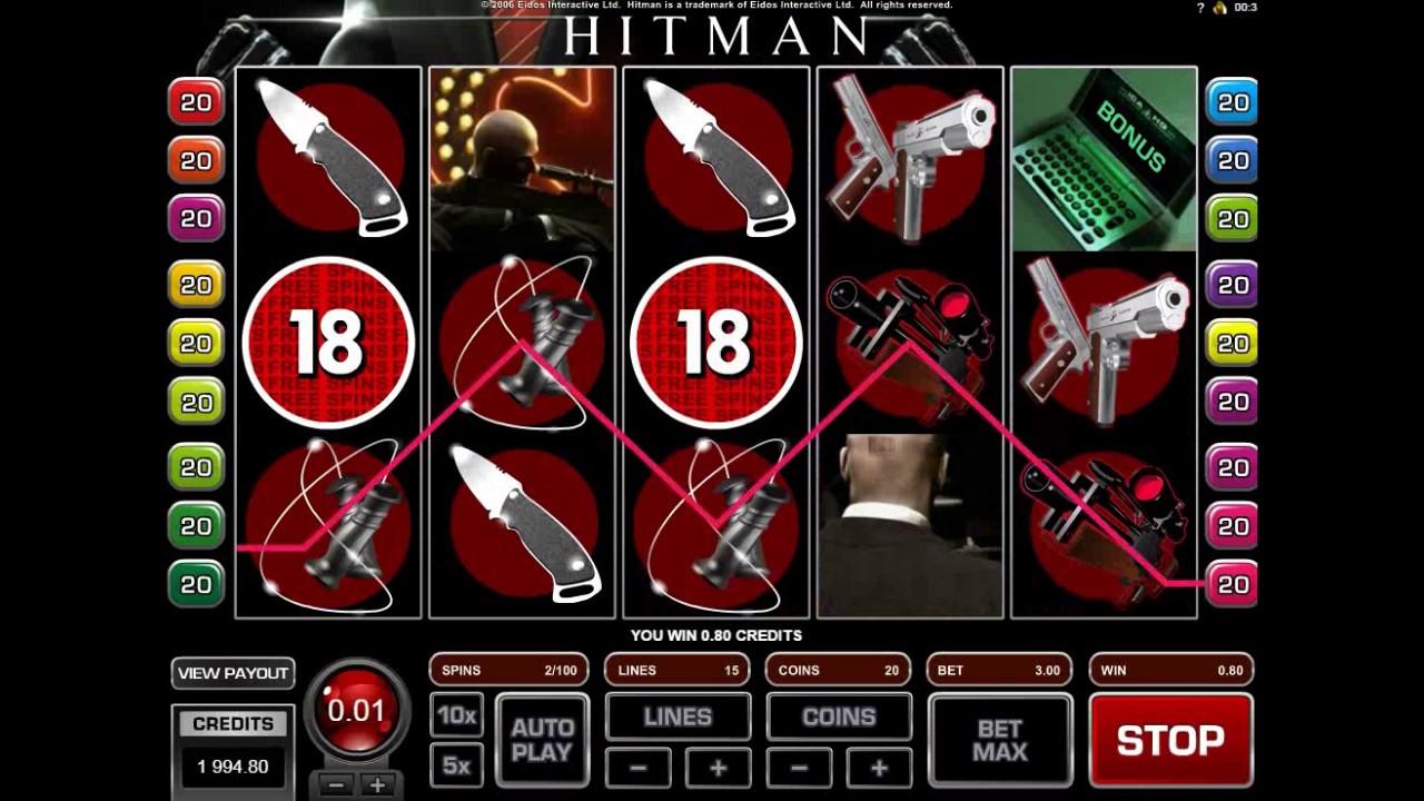 Игровой автомат hitman хитмэн онлайн бесплатно