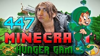 RIDICULOUSLY LUCKY!!! Minecraft: Hunger Games w/Mitch! Game 447