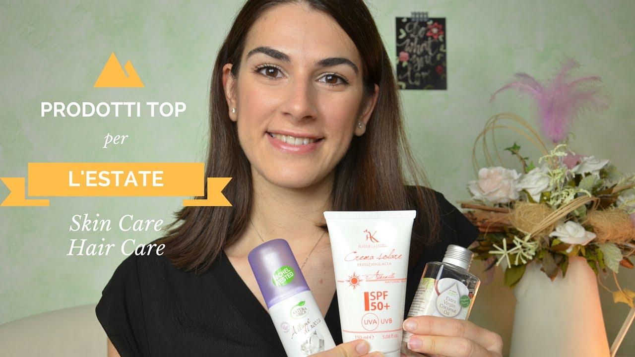 247836b8b830 Prodotti Top per L'Estate Skin + Hair Care - YouTube