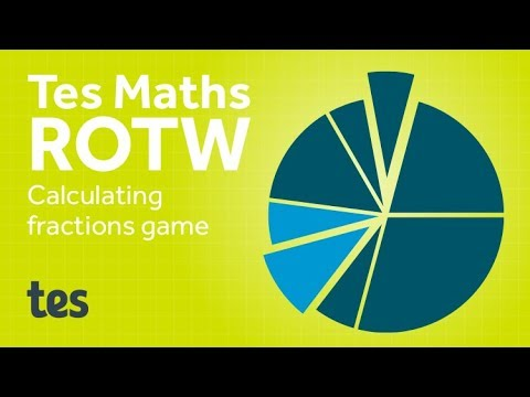 Connect 4 Fractions: TES Maths Resource of the Week