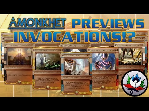Amonkhet Spoilers: CRAZY New Invocations/Masterpieces Revealed for Magic: The Gathering – MTG!
