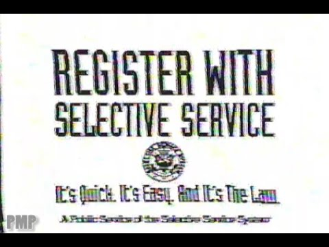 Register with Selective Service (1992)