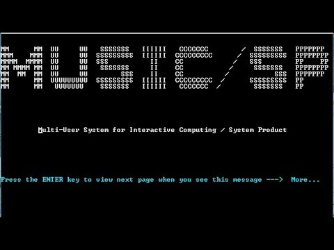 McGill University's MUSIC/SP time sharing operating system for IBM mainframes - M42