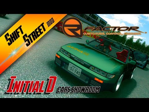 rFACTOR / Shift Street Mod / Initial D cars / Showroom by Sonic Prost