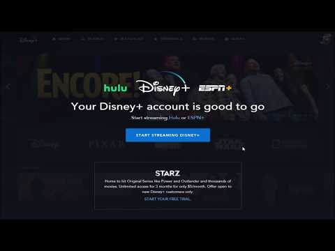 Disney+ Hulu ESPN+ Bundle Sign Up Package - How To Signup For Disney Plus Bundle W/ ESPN+ & Hulu