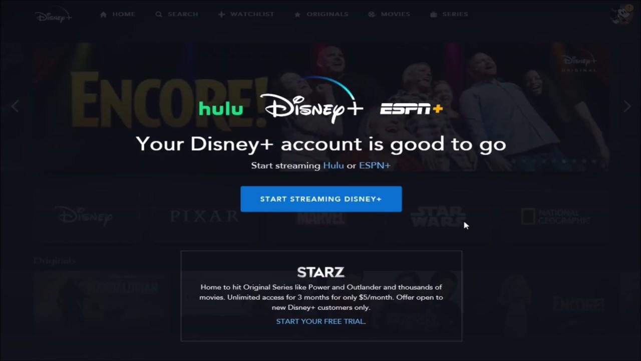Disney Hulu Espn Bundle Sign Up Package How To Signup For Disney Plus Bundle W Espn Hulu Youtube