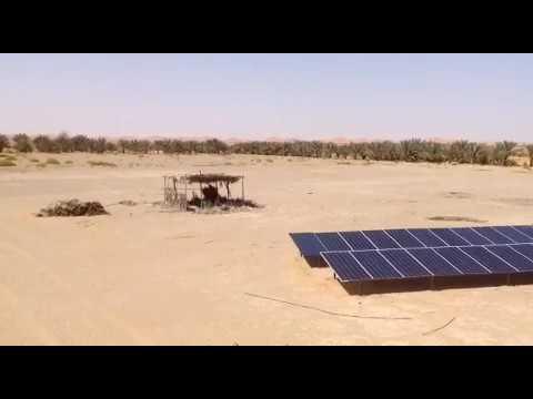 Solar Pumping in Oman
