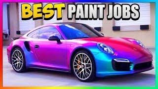 "TOP *THREE* Best Rare PAINT JOBS In GTA 5 Online   ""GTA 5 Secret Paint Jobs"""