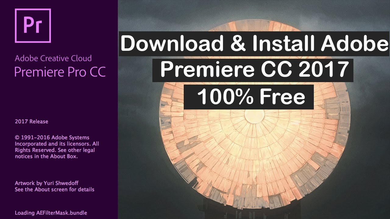 How To Instal Adobe Premiere Pro CC 2017 with Hollywood Fx,Indian  Effects,Chinese, in Urdu & Hindi
