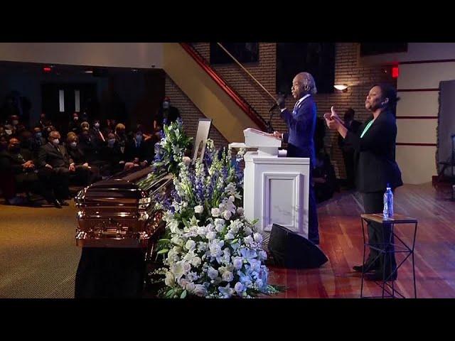 George Floyd remembered at memorial service