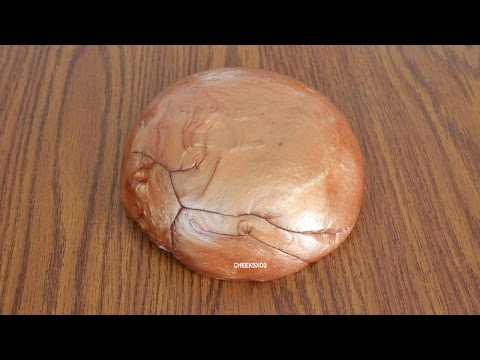 How to Make 24k Gold & Copper Gold Slime! DIY Metallic Pearl Shiny Gold Slime!