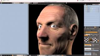 Creating a Realistic Head in Blender - part 05