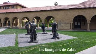 STANFORD University art and architecture OFFICIAL TOUR California