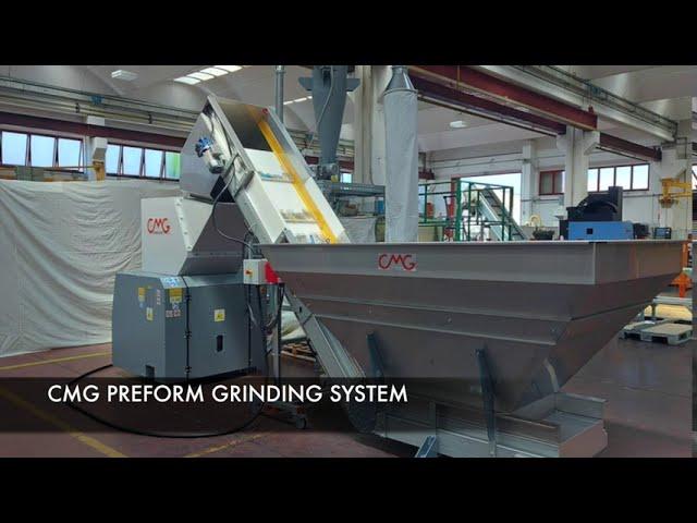 CMG preform grinding system