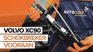 Hoe een schokbreker vooraan vervangen op een VOLVO XC90 1 HANDLEIDING | AUTODOC