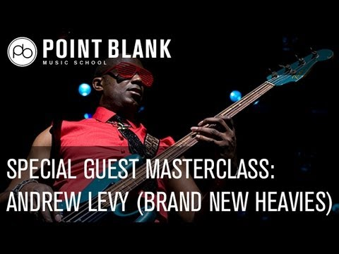 Andrew Levy (Brand New Heavies): Live Masterclass - Wednesday 23d January