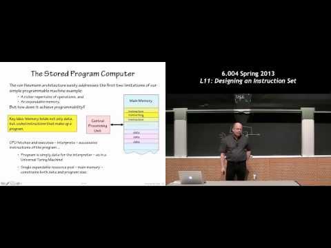 MIT 6.004 L11: Designing an Instruction Set