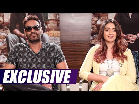 Exclusive Interview With Ajay Devgn, Ileana D'Cruz | Raid