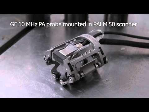 GE Inspection Technologies - GE's PALM Scanner for UT Weld Inspection