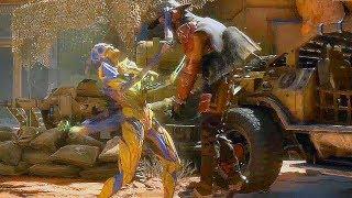 Mortal Kombat 11 – D'Vorah Gameplay Fatality Brutality (MK11)