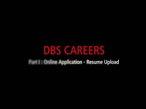 Applying for a job with DBS (Part 1)