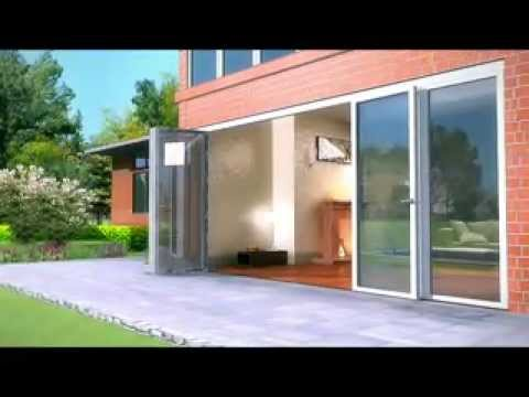 NanaWall Accordion Patio Doors U0026 Custom Glass Doors Animation