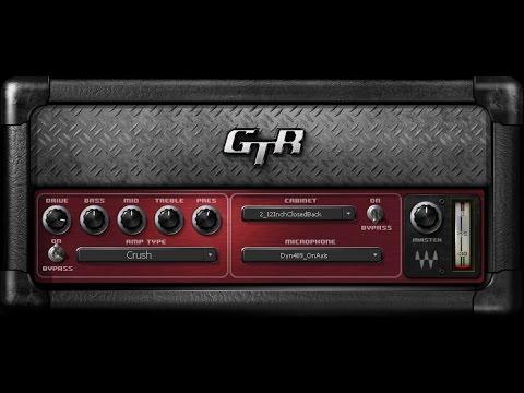 GTR Amp by Waves - Virtual High Gain Amp - Metal Tone Test (Vst Plugin)