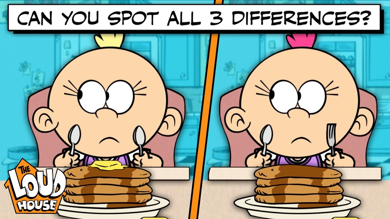 Download Spot The Difference Game #1 🧩   The Loud House