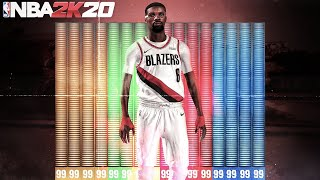 THE BEST GUARD BUILD AFTER PATCH 12! RARE PG BUILD WITH 53 BADGE UPGRADES IN NBA2K20! BEST PG BUILD!