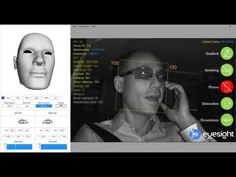 Картинки по запросу картинки Eyesight Technologies разработала новую технологию мониторинга автомобиля