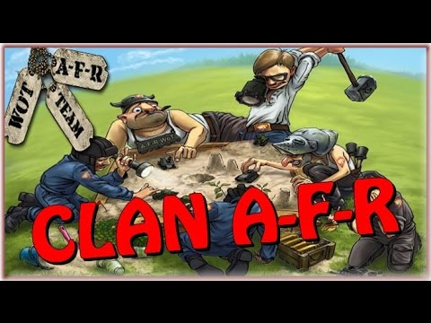 World Of Tanks Clan A-F-R L'agence fou rire