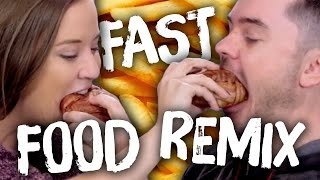 6 Crazy Fast Food Remixes (Cheat Day)