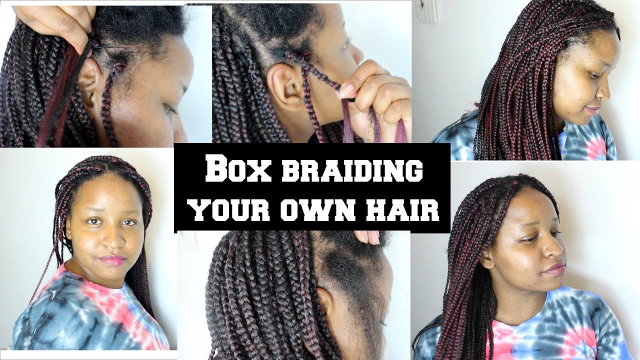 How To Braid Your Own Hair Cornrows | www.imgkid.com - The ...