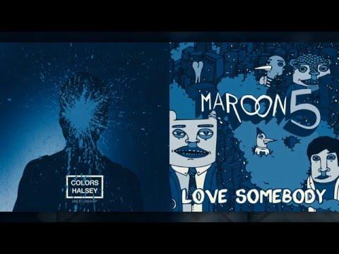 Halsey vs. Maroon 5 - Colors (Mashup)